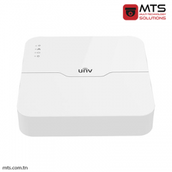 NVR UNV 4-CH 1 SATA INTERFACE 4 POE SMART 1U H.265