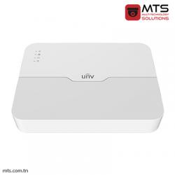 NVR UNV 8-CH 1 SATA INTERFACE 8 POE MINI 1U H.265