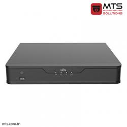 NVR UNV 10-CH 1 SATA INTERFACE 8 BNC/3MP SMART 1U H.264